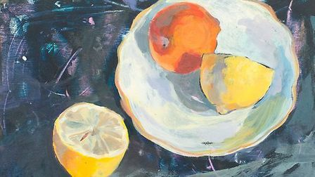 Oranges and Lemons, by Gabriella Buckingham, whose work has been selected for the prestigious Art Fa