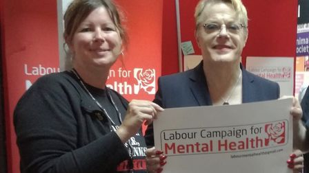 Emma Corlett is Labour's parliamentary candidate in North Norfolk. With Labour Party supporter Eddie