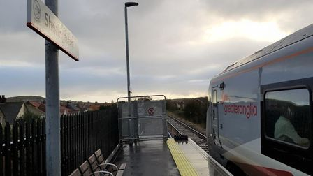 One of Greater Anglia's new 'bi-mode' trains at Sheringham station. Picture: Greater Anglia