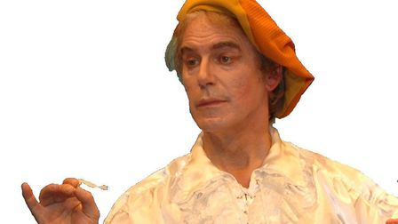 """John Bill was at his happiest when he was performing. As Bunthorne in """"Patience"""" from 2008. Picture:"""