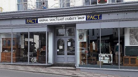The new PACT charity shop at North Walsham.Photo: submitted