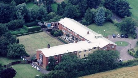 File photo from 2003 of th former Aegel House residental home. Aegal Gardens is being built on the s