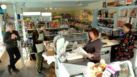 Inside the Ittringham Community Shop in 2006. Picture: Archant library