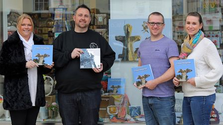 Chris Skipper, from Norwich, has produced a book, The Story of the Cromer Peregrines. Pictured from