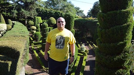 Before picture of Shaun Daniels. Pictures: Slimming World