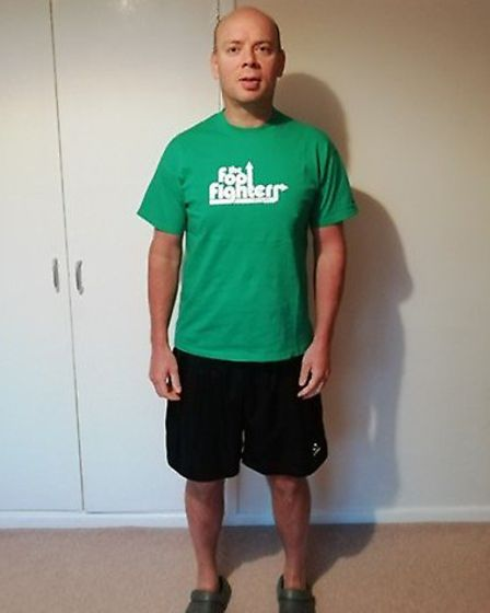 After picture of Shaun Daniels. Pictures: Slimming World