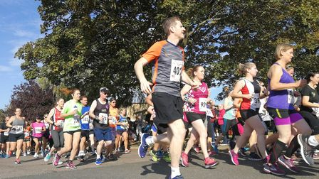 Hundreds of runners turned out for the Jolly Jags 10k race organised by Coltishall Jaguars Running C