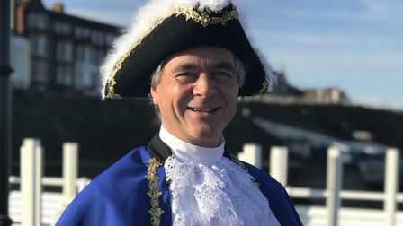 Mark Northway is Cromer's new town crier. Picture: Victoria Pertusa