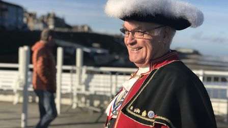 Jason Bell is retiring as Cromer's town crier after 35 years of service. Picture: Victoria Pertusa