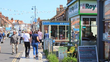 Encouraging coach trips to Sheringham could bring the town an economic boost. Picture: KAREN BETHELL