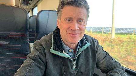 Jerry Kinsley was a passenger on one of Greater Anglia's new bi-mode trains on the Norwich-Sheringha