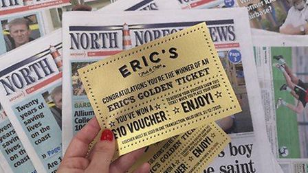 North Norfolk News has teamed up with Eric's Fish and Chips in Holt to offer readers the chance to w