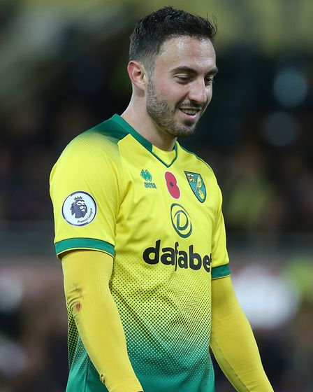 There was a rare sighting of Josip Drmic for City against Watford Picture: Paul Chesterton/Focus Ima