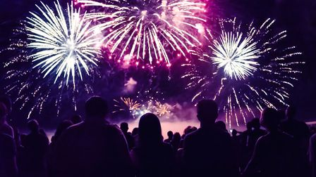 A fireworks display in north Norfolk has been postponed due to a forecast of high winds. Picture: Ge
