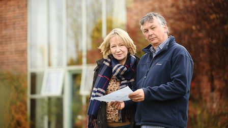 Ray and Diane Pearce moved because of concerns over electric and magnetic fields from cables from tw