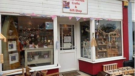 North Norfolk Crafts and Giftshop in Bacton is celebrating its first birthday. Picture: Val Howson