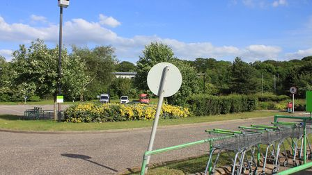 The Co-operative store car park, which could soon become a McDonald's.Picture: KAREN BETHELL