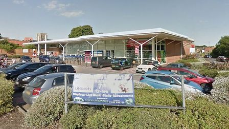 Tesco in Stalham where a woman's handbag and shopping bag were stolen from her trolley. Picture: Arc