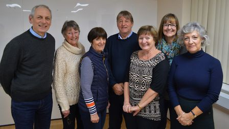 The new committee of the Friends of North Walsham War Memorial Hospital. Picture: Richard Batson