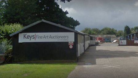 An episode of Celebrity Antiques Road Trip was partly filmed at Keys Fine Art Auctioneers in Aylsham
