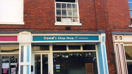 Fire at Bonds chip shop and takeaway in Red Lion Street, Aylsham. Pictures: David Bale