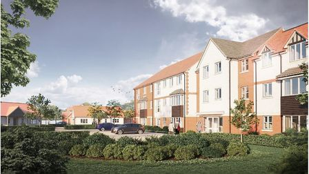 This is how the new retirement homes complex could look in Stalham. Picture: Supplied by BECG