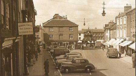 Jake Brader wants to discover what's beneath North Walsham's Market Place. The town is pictured here