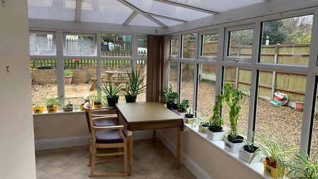 The conservatory at Dunsland care home in Mundesley. Picture: Stuart Anderson