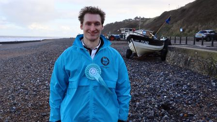 Harry Gwynne, the Brexit Party's candidate for North Norfolk in the 2019 General Election. Picture: