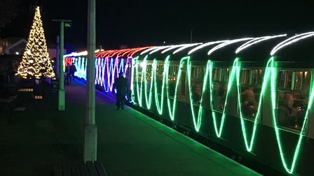 Demand for the Norfolk Lights Express has soared . Picture: Victoria Pertusa
