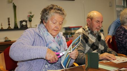 Sheringham Stroke Support Group committee member Chrissie Forster-Worton with her husband Maurice, 8