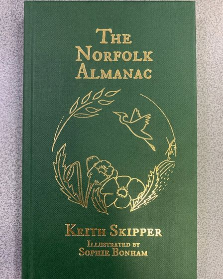 Cromer author, Keith Skipper's new book, the Norfolk Almanac. Picture: Stuart Anderson
