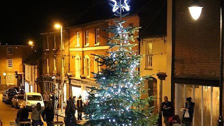 North Walsham Christmas lights switch-on. Pictures: Lawrence Scott