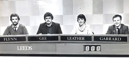 Dr Henry Gee, second from left, first appeared on University Challenge in 1983. Image: ITV