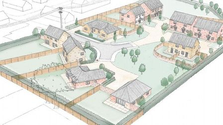 15 affordable homes will be built in Southrepps. Picture: Richard Pike/ NNDC planning documenrts