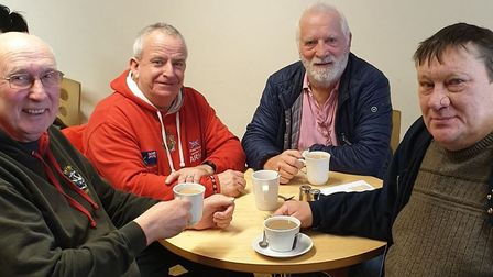 Bishop John Mills, left, is helping to organise a new Armed Forces Veterans Breakfast Club at Cromer