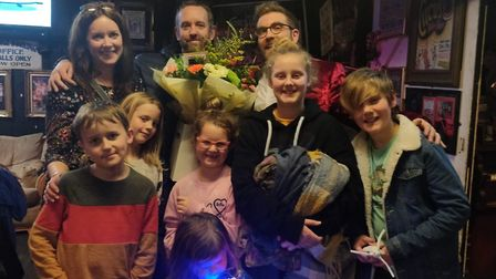 Harry Addy's family went to see the Fantastic Christmas Show at the Hippodrome Circus as special VIP