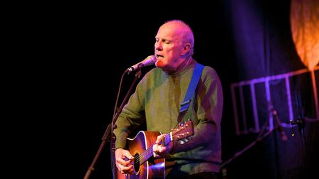 Cromer Folk on the Pier favourite Richard Digance, who will be bringing his signature songs and stor