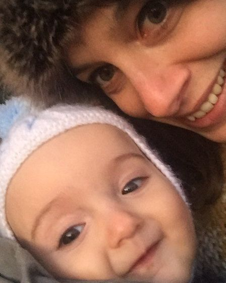 Katie-anna Whiting and daughter Winnie. Pictures: Katie-anna Whiting