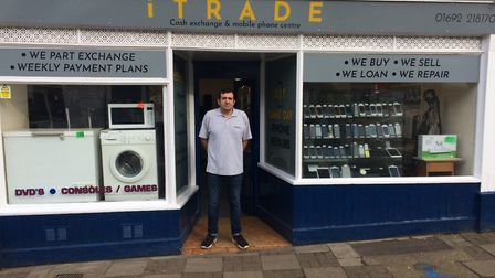 Jonathan Browne runs iTrade in North Walsham. Pictures: David Bale