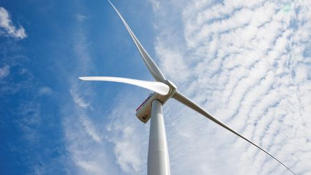 File photo of a wind turbine. Picture: Archant
