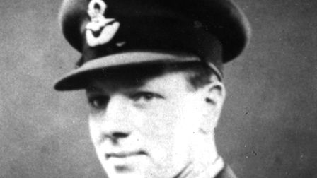 John 'Jack' Lynn - captain of a Wellington bomber, lost over enemy territory. Picture: Friends of Cr