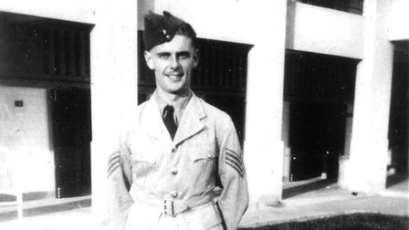 Reginald Larwood, who was lost when his flying boat went down off the Seychelles. Picture: Friends o