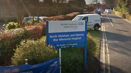 All-clear at North Walsham and District War Memorial Hospital. Picture: Google Maps
