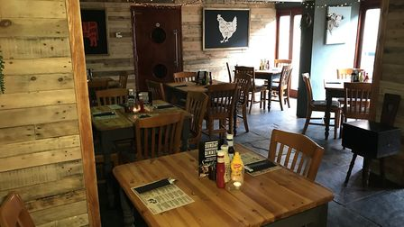 Inside the revamped Welly's Smokehouse in Cromer, part of the Wellington Freehouse on Garden Street.
