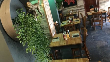 Inside the newly refurbished Welly's Smokehouse in Cromer, part of the Wellington Freehouse on Garde