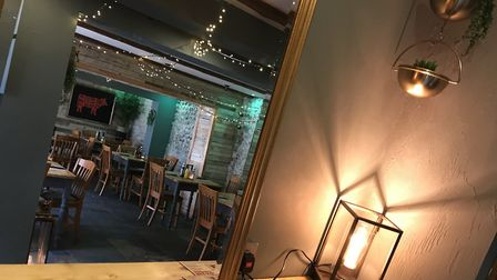 Inside the newly refurbished Welly's Smokehouse on Garden Street, Cromer. Picture: Neil Didsbury