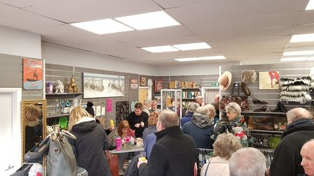 Launch of the new Priscilla Bacon Lodge charity shop in Cromer. Picture: PBL