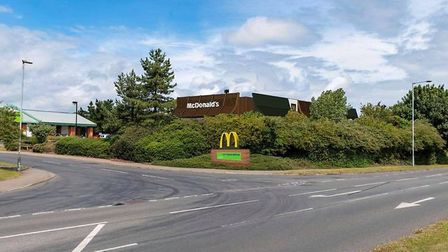 Proposed McDonald's restaurant in Cromer. Pictures: NNDC planning documents