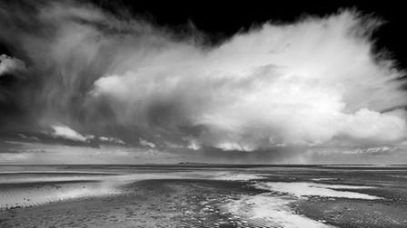At Wells Beach by Andy Bamforth, entered in the Advanced section of the North Norfolk Photographic S